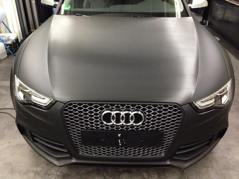 Komplettfolierung Audi