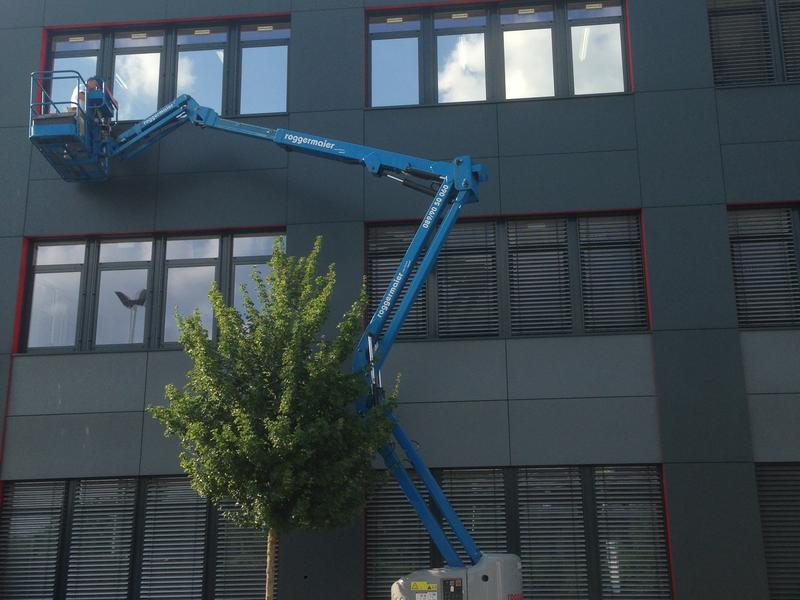 Gebäude Scheibentönung