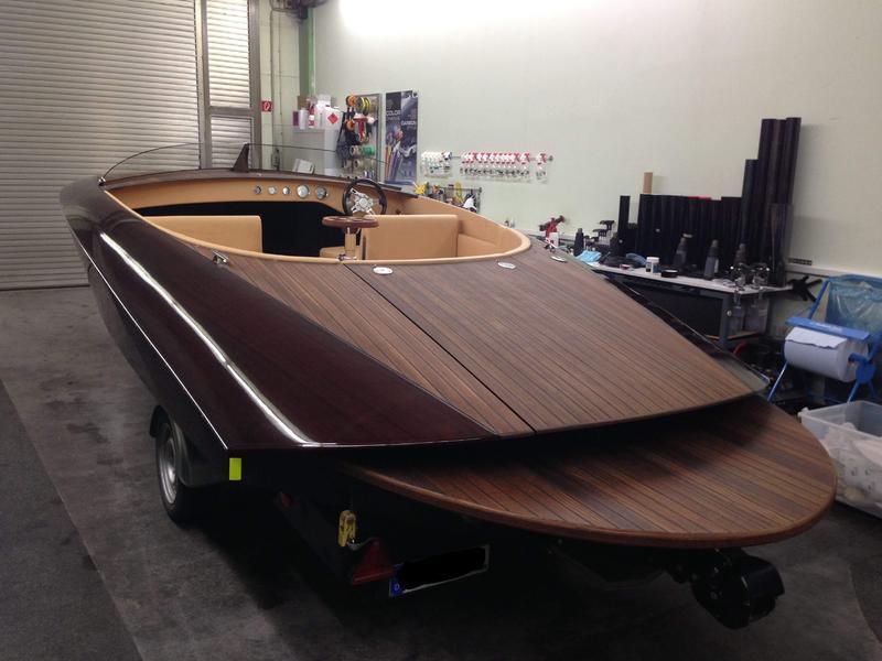 Lackschutz Boot