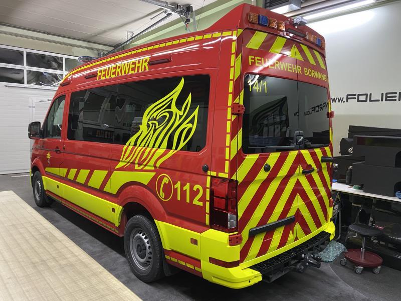 Design Feuerwehrfahrzeug