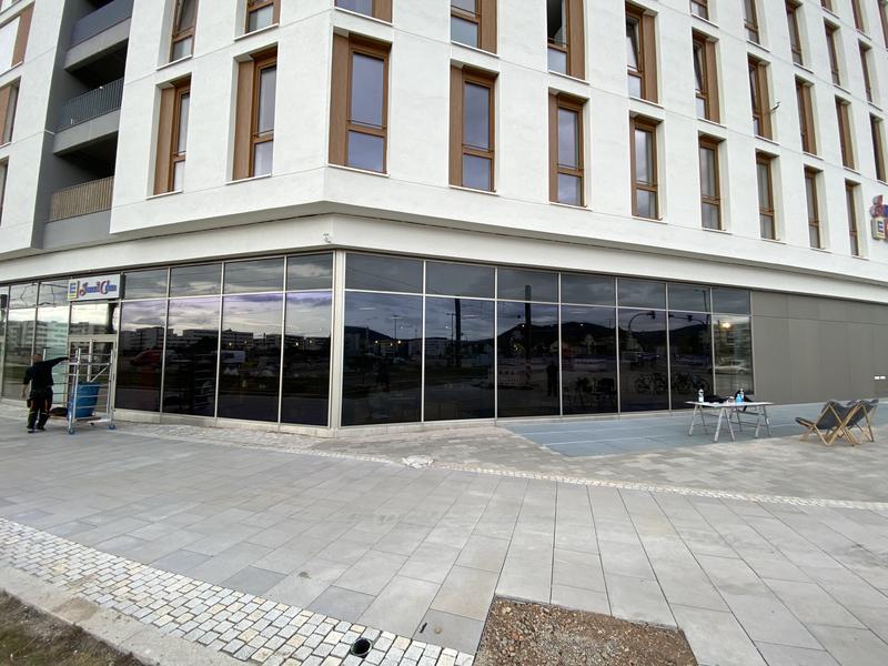 Sonnenschutz Gebäude